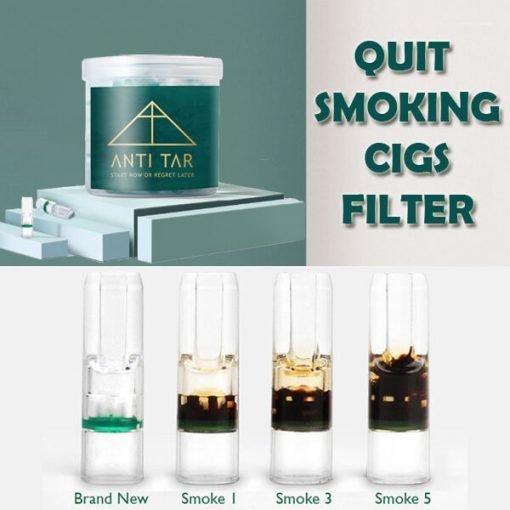 quit smoking cigs filter